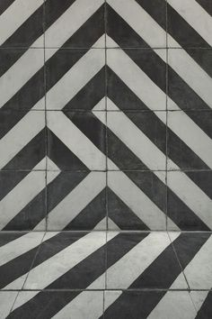 So cool. All the tiles are the same but turning them makes such a neat pattern.