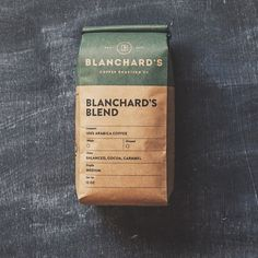 Packaging / Blanchard's Coffee Roasting Co.