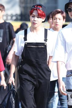 can he wear overalls more often please