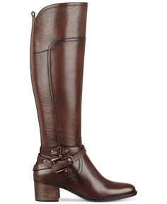 Marc Fisher Kacee Tall Wide Calf Riding Boots - Boots - Shoes - Macy's