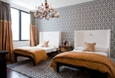 Bedroom by Lucinda Loya Interiors