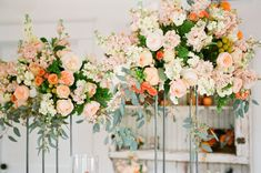 Large Stock and Garden Rose Floral Arrangements