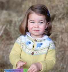 Duchess Kate: Adorable New Photo Released to Mark Princess Charlotte's Second Birthday!