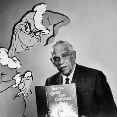 "*BORIS KARLOFF ~ ""How the Grinch stole Christmas"""