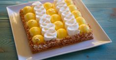 X Lemon curd My Favorite Food, Favorite Recipes, Dessert Presentation, Lemon Desserts, Lemon Curd, French Food, Cake Recipes, Cooking Recipes, Sweets