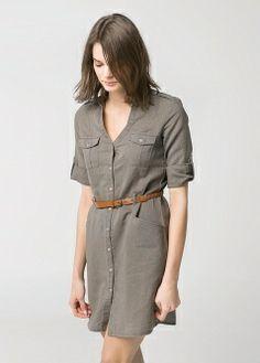 Vestido camisero -  - MANGO 700