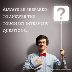 #JobSearchTipTuesday: Would you know what to say if an interviewer surprised you with a difficult question, such as how you resolved a conflict with a co-worker or how you handled a personal failure at work? These types of questions aren't uncommon, so don't be caught off guard - instead, take the time to review sample interview questions and how to answer them successfully.