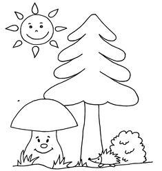 Kreslené omalovánky pro děti, z webu