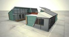 Core House (Solar Powered Shipping Container Homes)
