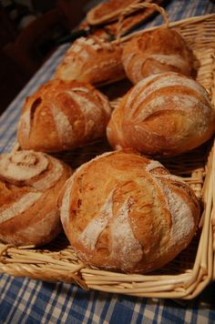 Bread baked in the Fontana Forni Oven.  www.fontanaforniusa.com