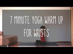 7 Minute Yoga Warm Up for Wrists — YOGABYCANDACE