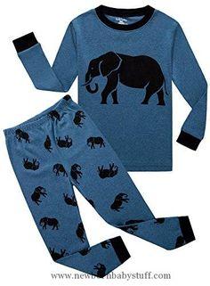 55f1e7e3fd Baby Boy Clothes Family Feeling Elephant Baby Boys Long Sleeve Pajamas Sets  100% Cotton Pyjamas · Kids ...