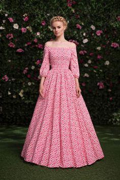 Платье «Аксинья» красное — 19 990 рублей