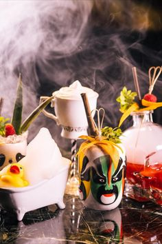 Cocktails are our pride. Each one created by the team of professionals with a desire to surprise you with combinations of taste and appearances🍹 ⠀ As mysterious as our cocktails get, fog is one of the elements essential to keeping the secrets of their creation🤫 Cocktails, Cocktail Drinks, V60 Coffee, Fine Dining, Restaurant Bar, Mysterious, This Is Us, Pride, Table Decorations