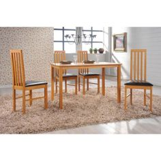 Add elegance and style to your dining room with Wellington wooden #diningtable and #chairs. It is an outstanding value for money without compromising on #quality.