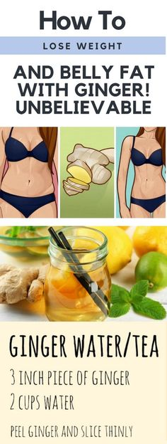 How To Lose Weight & Belly Fat & Ginger. Unbelievable…!!!