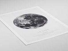 La Lune, plakat