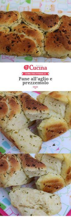 Pane all'aglio e prezzemolo della nostra utente Vittoria. Unisciti alla nostra Community ed invia le tue ricette!
