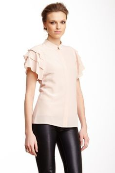 HauteLook   Rachel Zoe: Durham Silk Blouse