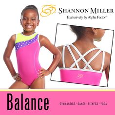 Find your perfect balance in this adorable, colorful leo by Shannon Miller and Alpha Factor. It's the leo I wish I'd had when I was young. $39.99