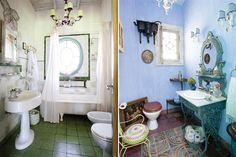 """Reconstruido a partir de unas pocas paredes originales, este espacio de fin de semana se armó con la premisa de buscar osadía en los colores e historia tras los objetos y muebles, de modo de crear una """"decoración emocional""""; conocelo en fotos"""