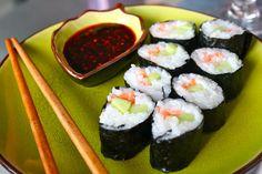 Cucumber & Smoked Trout Maki