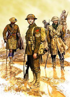 Image result for British WWI ARTILLERY UNIFORM