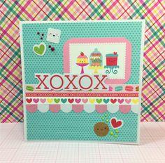 Doodlebug Designs Cream & Sugar collection card