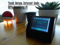 "Make this super easy and cool looking 2.8"" touchscreen Internet Radio that can be controlled with PC, Smartphone and basically every machine that has got a browser and an internet connection..(find the speakers at the back from here ;)Components list:-Raspberry Pi, basically any one works from the first gen.-Adafruit PiTfT touch screen-Cable between the screen and raspberry.Case was printed with Printrbot Makers kit."