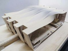 Curving roof