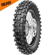 Michelin S12 XC Tyre - Rear