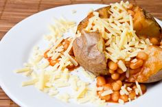 British Recipe: Jacket Potatoes With Home-Cooked Beans