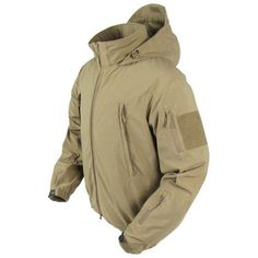 Condor Summit Zero Soft Shell Jacket Coyote Tan | Bushcraft | Airsoft | Prepping