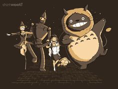 Wizard of Aws - just ordered a new Miyazaki shirt. This makes me teh happies.