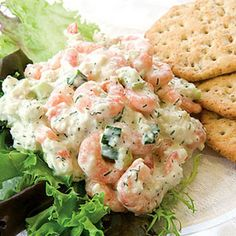 Seafood Salad Dip-eat with crudites instead of crackers