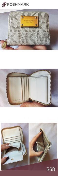 Michael Kors, mini wallet Michael Kors mini wallet.                                                                                                                                                                                                                                                                       Fast shipper  Accept reasonable offers  I do bundle discounts too                                 No trades Michael Kors Bags Wallets