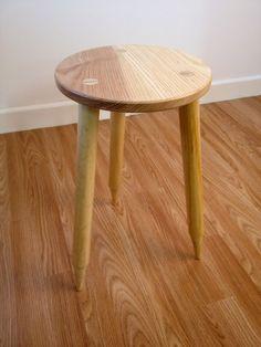 Stool/table with cricket stump legs www.stephenson-furniture.co.uk Furniture, Stool, Bedroom Themes, Side Table, Bedroom Design, Table, Room Decor, Boy Room, Furniture Design
