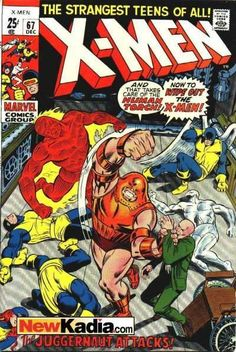 X-men 67 Marvel comics
