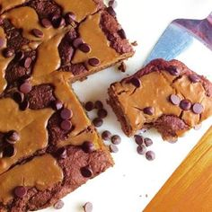 #Repost @foodfitnessbypaige  If anyone says they don't like Peanut Butter swirls and Chocolate Chips in their Brownies then you need to call 911 cause they are probably an Undercover Spy Terrorists!!! :o ... just sayin'  These heavy over sized dense chewy beauties are only 164 calories 7g net carbs and 13.3g protein. Sinking your teeth into these babies will probably be the best part of your day! ... and if you meet a Terrorist then offer them a brownie and watch world peace unfold right…