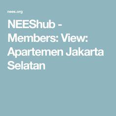 NEEShub - Members: View: Apartemen Jakarta Selatan
