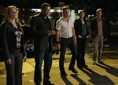 CSI:  VEGAS (Grissom was replaced with Langston)