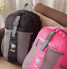 whatever your packing and travel problem is, the Bago Folding Travel Backpack will handle it. Make it your smart daypack. Backpacking Tips, Camping And Hiking, Packing Tips For Travel, Packing Hacks, Traveling Tips, Kids Gadgets, Travel Gadgets, Travel Items, Travel Backpack