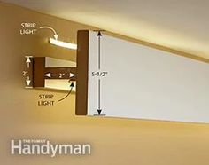 How to Install Elegant Cove Lighting Cove Lighting Ceiling, Garage Lighting, Bedroom Lighting, Ceiling Lights, Indirect Lighting, Linear Lighting, Strip Lighting, Home Lighting Design, Ceiling Design