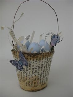 peat pot Easter basket