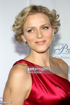 Charlene Wittstock attends The Princess Grace Award Gala 2008 at Cipriani 42nd Street on October 15, 2008 in New York City.