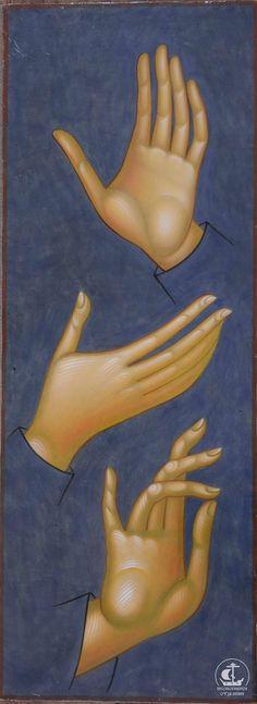 Christian Drawings, Christian Art, Byzantine Icons, Byzantine Art, Religious Icons, Religious Art, Writing Icon, Paint Icon, Hand Art