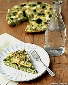 Broccoli Cheese Frittata Recipe on Yummly