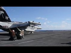 USS Ronald Reagan Flight Deck B-roll