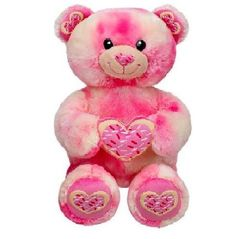 Beary Special Bake Shop Collection Retired Build a Bear Pink Sprinkled Heart Sugar Cookie BAB Unstuffed Plush Teddy Bear Toy Animal In Stock Now @ http://www.bonanza.com/booths/TweetToyShop