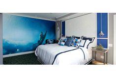 Os quartos do sonho de qualquer surfista na Casa Surf Suites, em Laguna Beach